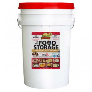 Augason Farms 30 Day Emergency Food Supply in 6 Gallon Pail