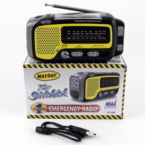 Mayday Solar Dynamo Emergency Radio Flashlight - Sidekick