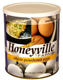 Honeyville Powdered Whole Eggs Number 10 Can
