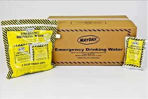 Disasternecessities Mayday Water Pouches (case of 100)