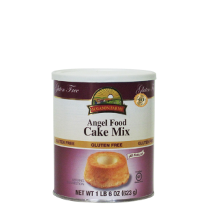 Augason Farms Gluten Free Cake Mix - Angel Food Everyday Size Can - 22 oz