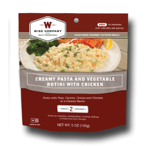 Guardian Cook in the Pouch - Creamy Pasta Vegetable Rotini with Chicken 6 PACK