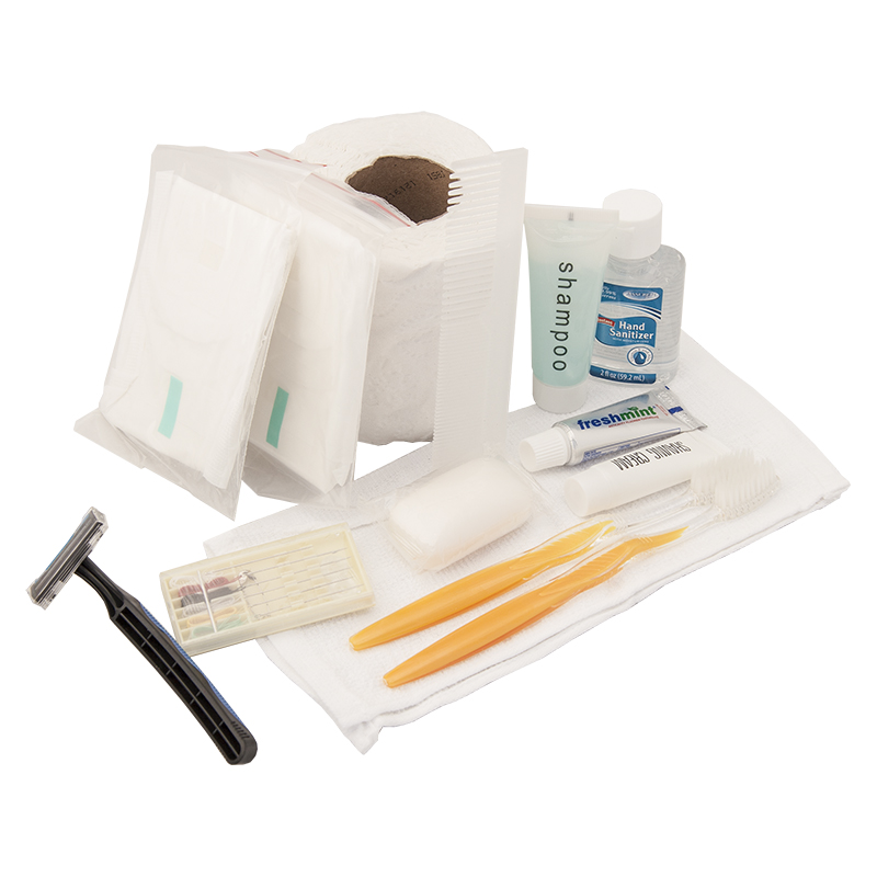 emergency zone hygiene kit. Black Bedroom Furniture Sets. Home Design Ideas
