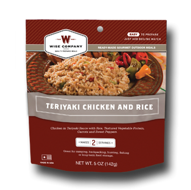 Guardian Cook In The Pouch Teriyaki Amp Rice 6 Pack