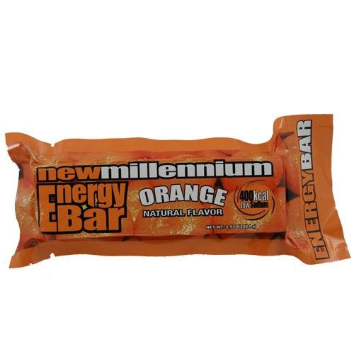 Orange millennium emergency survival energy calorie food for Food bar orange