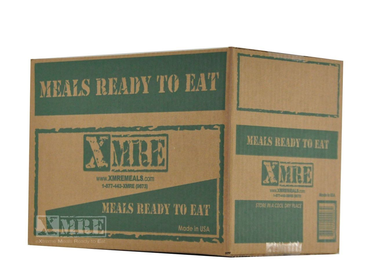 Xmre Military Standard 24 Hour Ration Case Of 6