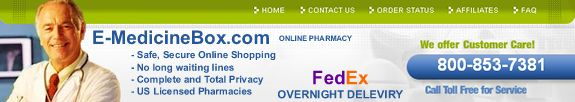 E-MedicineBox.com - Online Pharmacy and Medications
